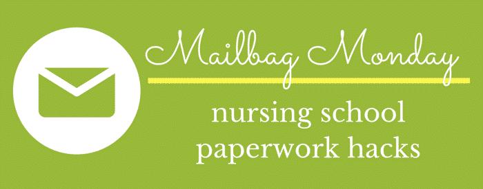 nursing school paperwork