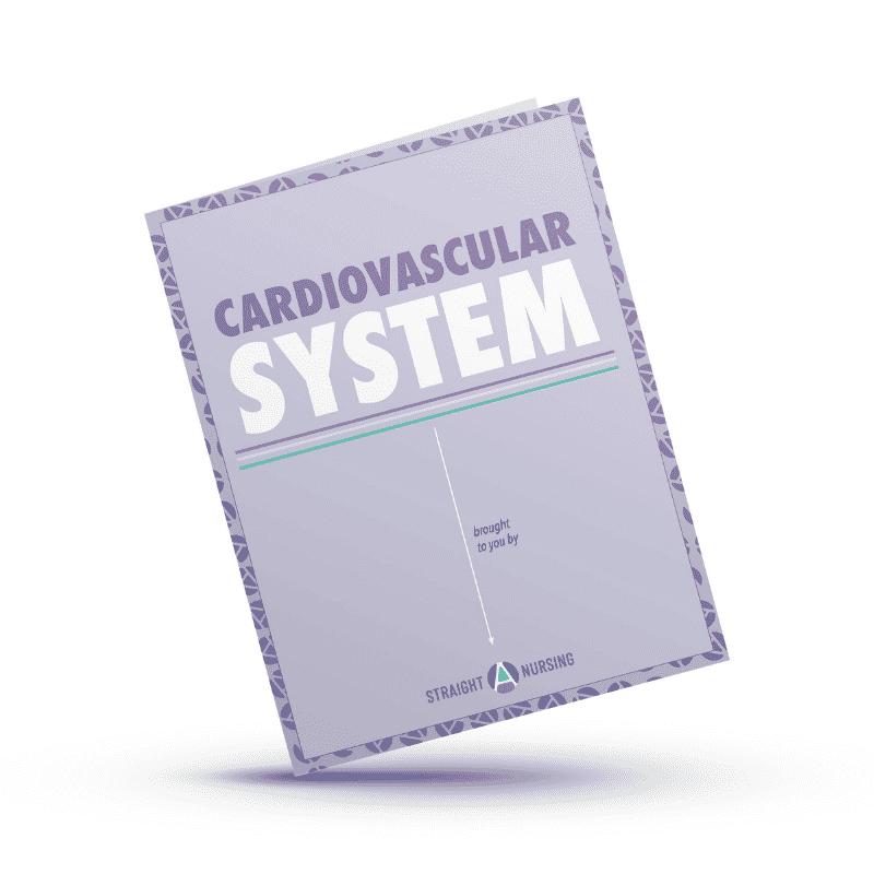 Nursing school study guide cardiovascular