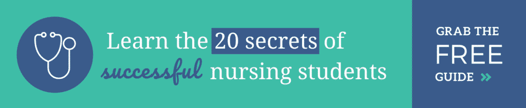 20 Secrets of Successful Nursing Students
